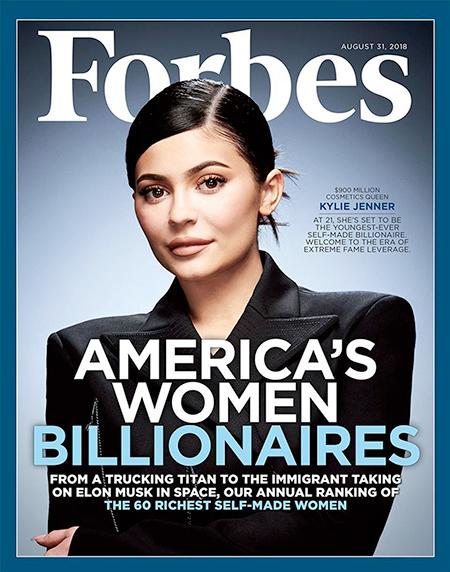 """63599 Forbes лишил Кайли Дженнер статуса миллиардера: """"Она годами раздувала масштаб и успех своего бизнеса"""""""