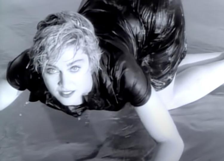 63973 Дочь Мадонны Лурдес Леон повторила сцену из знаменитого клипа мамы