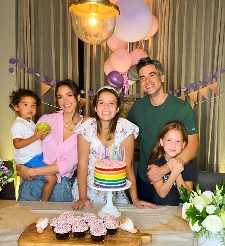 63857 Почести для Онор: Джессика Альба отметила с семьей день рождения старшей дочери