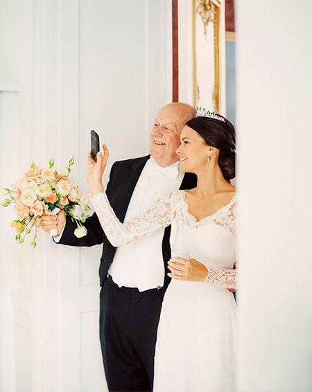 63800 Принц Швеции Карл Филипп и принцесса Софии показали ранее не опубликованные свадебные снимки