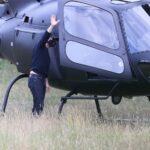 64291 Голодные игры: Том Круз летает на обед на частном вертолете