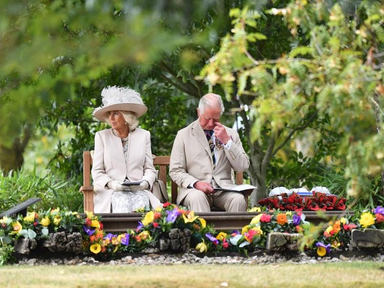 64663 Послание от Елизаветы II и цветы от принца Чарльза: как британская королевская семья отметила важную историческую дату