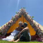 64493 Торт в виде яхты и посиделки у костра: Хайди Клум и Том Каулитц отметили первую свадебную годовщину
