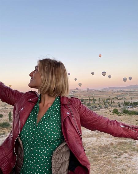 65023 Максим Виторган отметил день рождения с Нино Нинидзе на воздушном шаре в Каппадокии