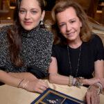 65257 Марион Котийяр представила в Париже авторскую коллекцию украшений