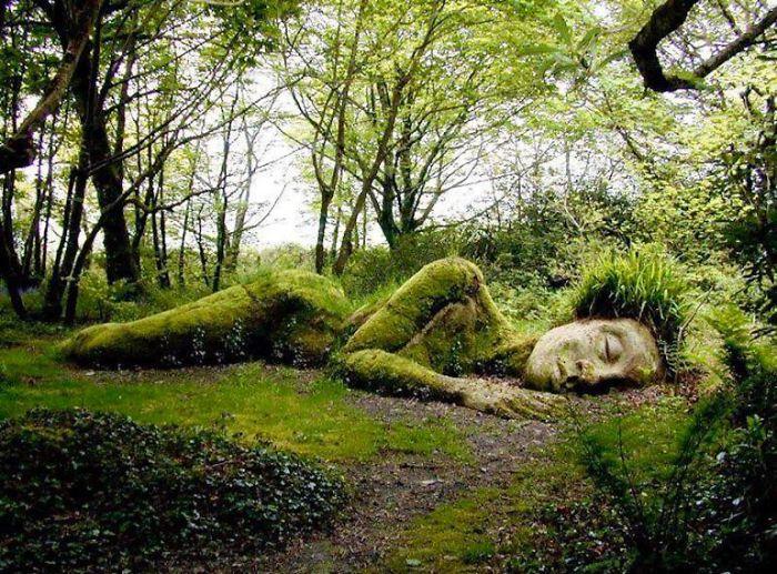 65179 Потрясающая скульптура, которая меняет внешний вид в зависимости от сезона