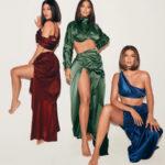 64984 Сестры Кардашьян снялись в соблазнительных нарядах в рекламе нового парфюма