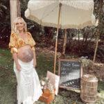 """65414 Звезда """"Дневников вампира"""" Кэндис Аккола провела вечеринку в честь будущего ребенка"""