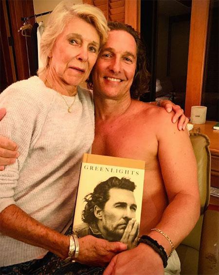 65810 Первое совместное интервью: Мэттью Макконахи и его мама рассказали, почему не общались 8 лет