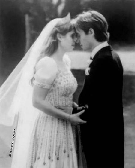 65646 Сара Фергюсон поделилась тремя новыми снимками со свадьбы принцессы Беатрис