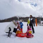 66154 Джорджина Родригес отдохнула с детьми Криштиану Роналду в горах