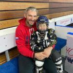 66113 Старший сын Александра Овечкина и Настасии Шубской дебютировал на льду
