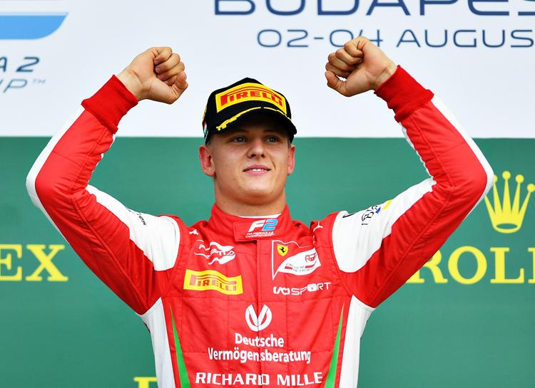 """65924 Свершилось: сын Михаэля Шумахера дебютирует в """"Формуле-1"""""""