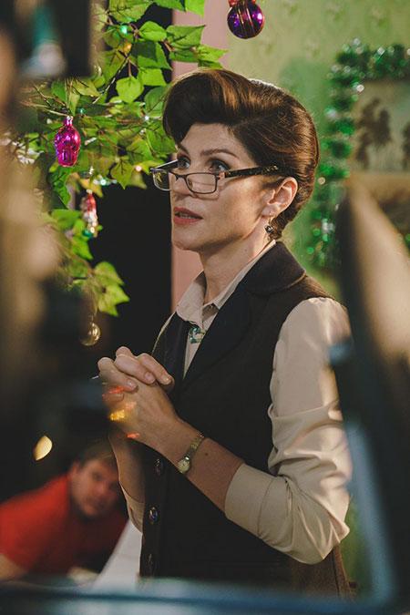 """66231 Светлана Камынина о том, как добиваться своих целей, эффективном средстве от стресса и новом сериале """"Настя, соберись!"""""""