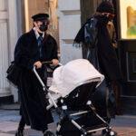 66095 Узнай меня, если сможешь: Джиджи Хадид впервые замечена на прогулке с новорожденной дочерью