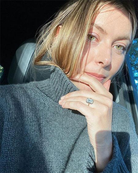 66406 Какое обручальное кольцо Александр Гилкс подарил Марии Шараповой: стоимость и другие детали