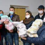 66455 Уникальной четверни из Кропивницкого уже 10 месяцев. Родители рассказали как они справляются с малышками