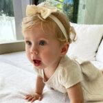 66535 Общение на русском и стильные образы: Анна Курникова показала подросшую дочь Машу