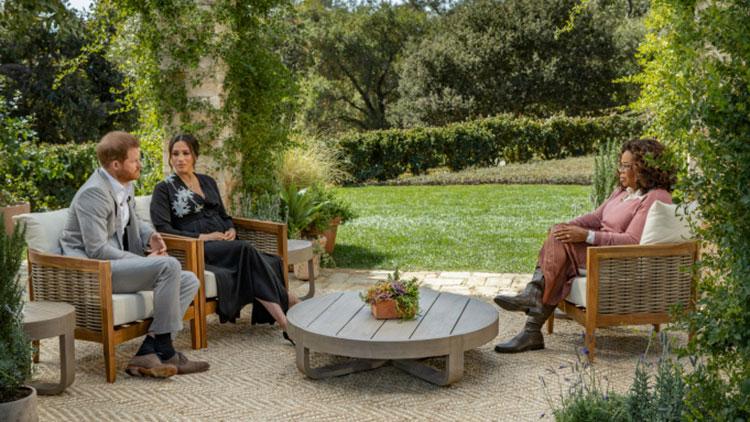 """66901 Главное из интервью Меган Маркл и принца Гарри: расизм во дворце, мысли о суициде, тяжелые отношения с принцем Чарльзом и заработок после """"мегзита"""""""