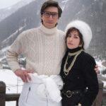 66916 Не узнать: первое фото Леди Гаги и Адама Драйвера со съемок фильма об убийстве Маурицио Гуччи его женой Патрицией