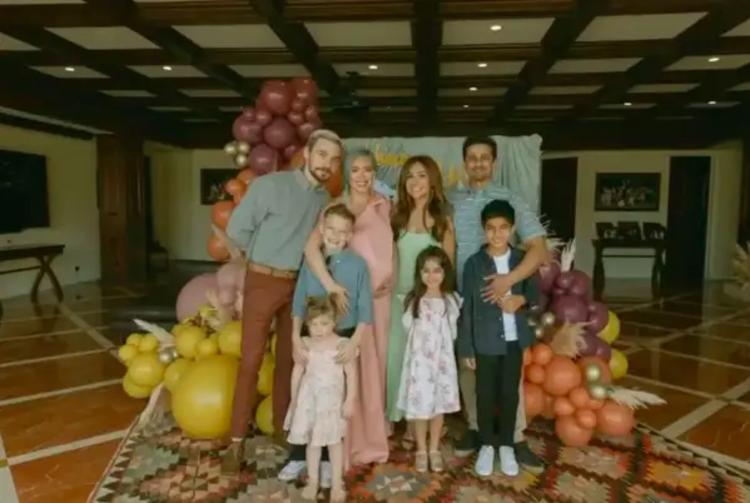 66939 В стиле бохо: Хилари Дафф в новом образе провела вечерину в честь будущего ребенка