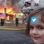 67034 Наташа, Марк все уронил: шутки и мемы про глобальный сбой в работе Facebook, WhatsApp и Instagram
